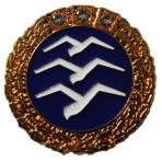 FAI złota odznaka szybowcowa z trzema diamentami