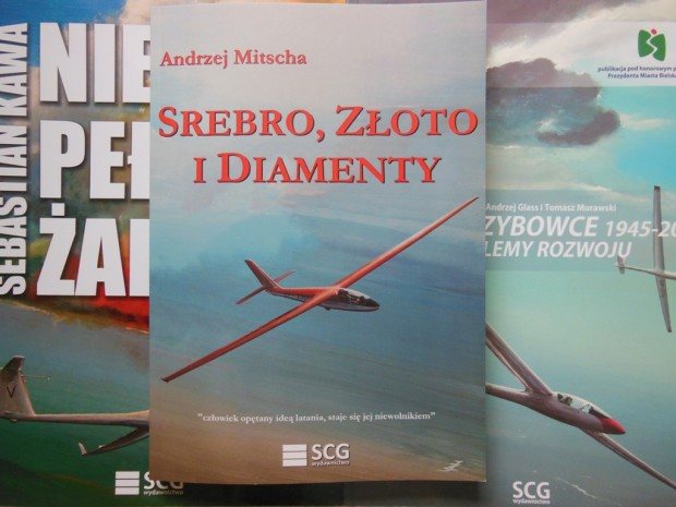 """Nowa szybowcowa książka – """"Srebro, złoto i diamenty"""""""