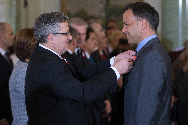 Sebastian Kawa Kawalerem Orderu Odrodzenia Polski