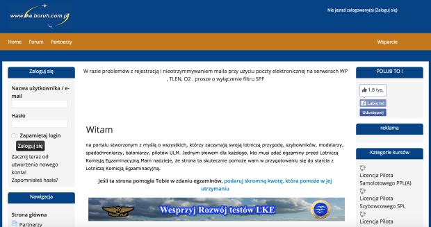 Nowa wersja lke.boruh.com.pl