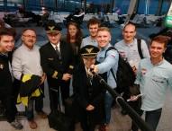 Reprezentacja juniorów w drodze do Australii