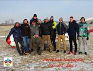 Zimowe zawody na celność lądowania w Aeroklubie Kujawskim